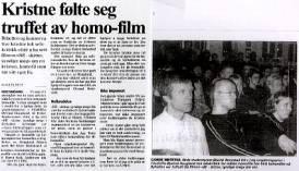 kristnes syn på homofili